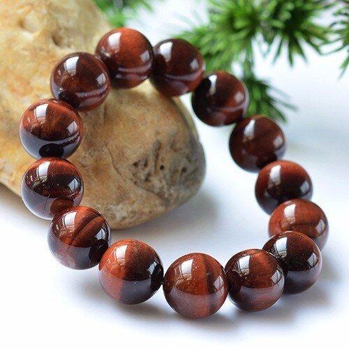 Root Base Muladhara Chakra Red Tiger Eye Bracelet