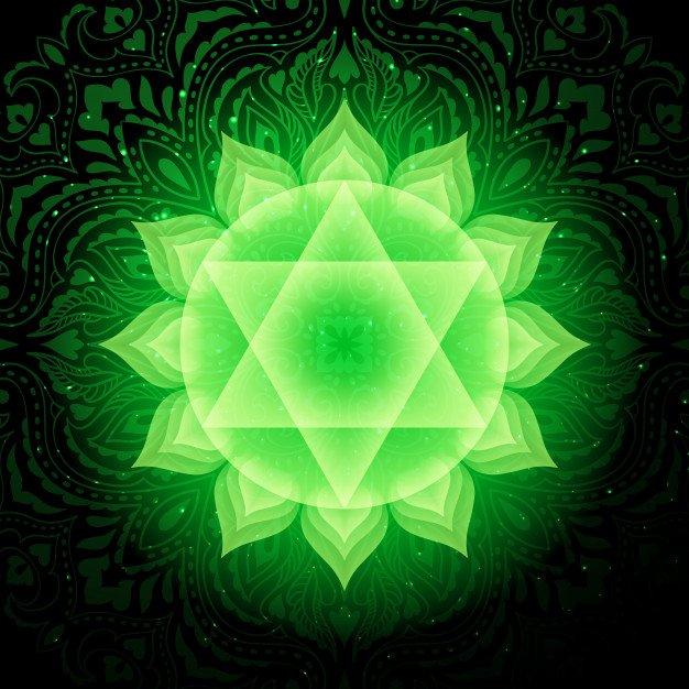 Anahata or the Heart Chakra Symbol